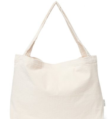 Studio Noos Old white rib Mom bag